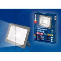 Прожектор светодиодный ULF-F15-50W/NW IP65 185-240В SILVER Белый свет (4000K)