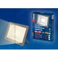 Прожектор светодиодный ULF-F15-50W/WW IP65 185-240В SILVER Теплый свет (3000K)