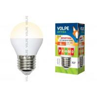 Светодиодная лампа диммируемая LED-G45-6W/WW/E27/FR/DIM/O