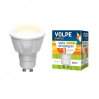 Светодиодная лампа серии Simple LED-JCDR-5W/WW/GU10/S