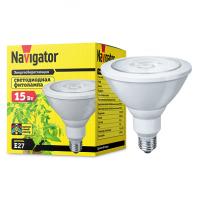 Лампа светодиодная LED 15вт Е27 для растений PAR38 (61201 NLL-FITO)