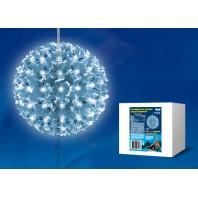 Фигура светодиодная D150  «Шар с цветами сакуры» Белый холодный