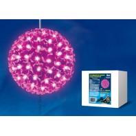 Фигура светодиодная D210 «Шар с цветами сакуры» розовый