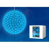Фигура светодиодная D270 «Шар с цветами сакуры» голубой