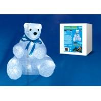 Фигура светодиодная «Белый медведь 2» 21*22*23 см, белый