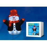 Фигура светодиодная «Снеговик», 27*17*30 см, белый