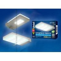 Подсветка светодиодная для стеклянных полок ULE-C01-1,5W/NW IP20 SILVER