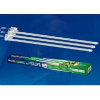 Светильник для растений светодиодный линейный, ULY-P91-20W/SPFR/K IP65 AC220V CLEAR KIT03 1200мм. Спектр для фотосинтеза. В составе набора из 3-х штук. TM Uniel.