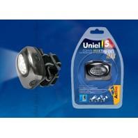 Головной фонарь Uniel серии Стандарт «Bright eyes — comfort max» S-HL010-C Gun Metal