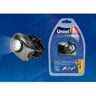 Головной фонарь Uniel серии Стандарт «Bright eyes — comfort» S-HL011-C Gun Metal