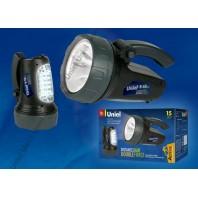 Прожектор фонарь Uniel серии Стандарт «Distance light — Double force» S-SL017-BA Black