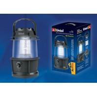 Кемпинговый фонарь Uniel серии Стандарт «Night Glowworm-16» S-TL013-B Black