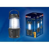 Кемпинговый фонарь Uniel серии Стандарт «Night Glowworm-20» S-TL014-B Black
