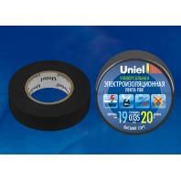 Изоляционная лента Uniel UIT-135P 20/19/01 Черный