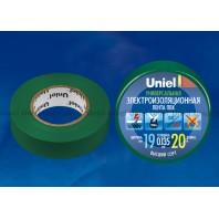 Изоляционная лента Uniel UIT-135P 20/19/01 Зеленый