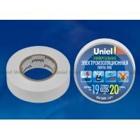 Изоляционная лента Uniel UIT-135P 20/19/01 Белый