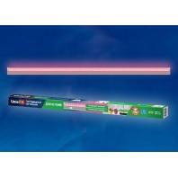 Светильник для растений светодиодный линейный ULI-P21-18W/SPSB IP40 SILVER, 1170мм, выкл. на корпусе. Спектр для рассады и цветения.