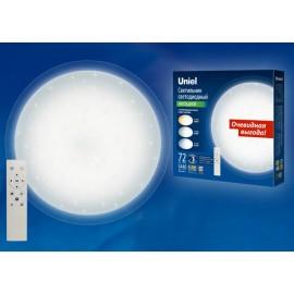 Cветильник светодиодный управляемый накладной SATURN ULI-D214 72W/SW/50 Диммируемый