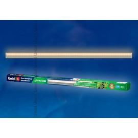 Светильник для растений светодиодный линейный ULI-P10-10W/SPFR IP40 SILVER, 550мм, выкл. на корпусе. Спектр для фотосинтеза