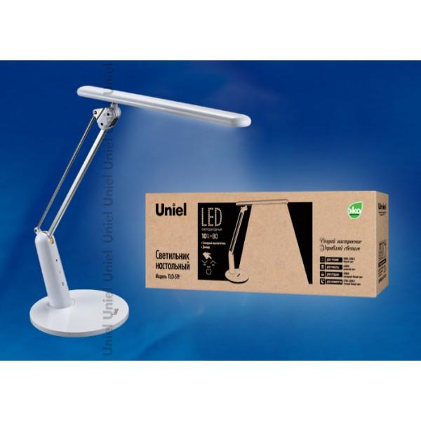 Настольная лампа светильник  TLD-519 White (Белый)