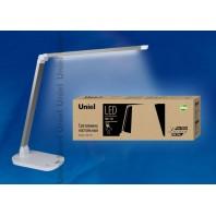 Настольная лампа светильник  TLD-521 Silver (Серебро)