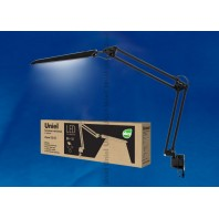 Настольная лампа светильник на струбцине TLD-524 Black (Черный)