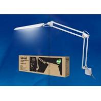 Настольная лампа светильник  на струбцине TLD-524 White (Белый)