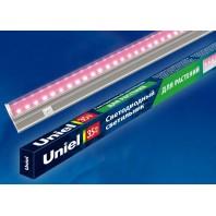 Светильник для растений светодиодный линейный ULI-P21-35W/SPSB IP40 WHITE, 1150мм, выкл. на корпусе. Спектр для рассады и цветения.