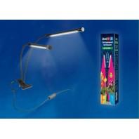 Светильник для растений светодиодный с таймером, на прищепке ULT-P33-15W/SPSB/TM IP40 BLACK. Спектр для рассады и цветения. TM Uniel.