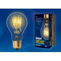 Ретро лампа накаливания Эдисона «Vintage» A60 IL-V-A60-60/GOLDEN/E27 SW01