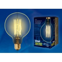 Ретро лампа накаливания Эдисона «Vintage» G125 IL-V-G125-60/GOLDEN/E27 VW01
