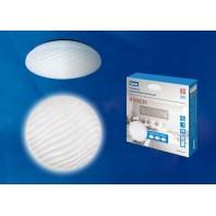 Управляемый светодиодный светильник ULI-D251 80W/SW/56 PISCES Диммируемый. Пульт ДУ (в/к). Теплый свет(3000К)/Белый свет(4000К)/Дневной свет(6500К). 5000Лм. IP20.