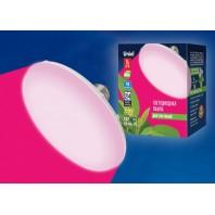 Лампа светодиодная для растений LED-U150-16W/SPSB/E27/FR PLP30WH. Форма «UFO», матовая. Спектр для рассады и цветения. Картон. ТМ Uniel