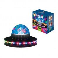 Светодиодный светильник-проектор ULI-Q305 3,5W/RGB BLACK. Напольный. Серия DISCO, многоцветный. Цвет корпуса - черный.