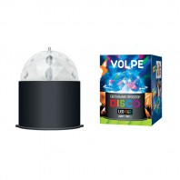Светодиодный светильник-проектор ULI-Q302. Серия DISCO, многоцветный. Напряжение 220В. Кабель с вилкой (в комплекте) Цвет корпуса — черный.