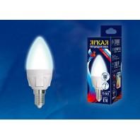 Светодиодная лампа диммируемая LED-C37 7W/4000K/E27/FR/DIM PLP01WH