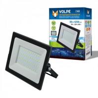 Светодиодный прожектор ULF-Q513 50W/6500K IP65 220-240В BLACK картон