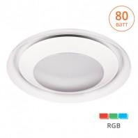 Светильник LED ANDROMEDA RGB-X управляемый 80W димм. пульт ДУ