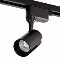 Трековый светодиодный светильник WOLTA WTL-15W/01B 15Вт 1200лм IP40 4000К Чёрный