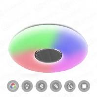Накладной управляемый светодиодный светильник a-play classic 60W RGB R-510-SHINY-220V-IP20