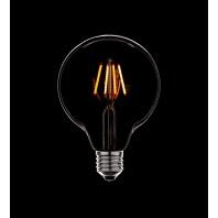 Ретро лампа светодиодная Эдисона «Vintage» диммируемая  G125 2C4+