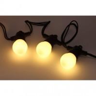 Гирлянда Белт Лайт набор 5 м ERABL-WS5 , 15 LED ламп (шаг 30 см), теплый свет, 220 В, каучук ЭРА Б0047952