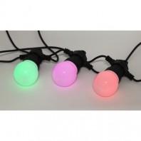 Гирлянда Белт Лайт набор 3 м, ERABL-MK3 10 RGB LED (шаг 30 см), мультиколор, динамич.режим, ЭРА Б0047957