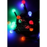 Гирлянда 30LED шарики черри RGB 4.4м 8 режимов (KOC_GIR30LEDBALL_RGB)