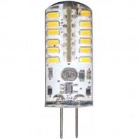 Лампа светодиодная Feron LB-422 (3W) 12V G4 6400K капсула силикон 11x38mm