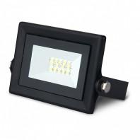 Прожектор светодиодный ДО-10Вт 6500К IP65 6500К черный Qplus Gauss (613511310)