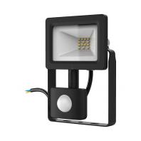 Прожектор светодиодный ДО-10Вт 700lm IP65 6500К с датчиком движения Gauss (628511310)