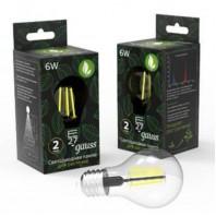 Светодиодная лампа для растений LED-6Вт E27 Fito Filament A60 Gauss (102802906)