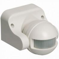 Датчик движения ИК настенный 1100w 180 гр. 12м IP44 белый (ДД 009 бел.)
