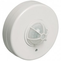 Датчик движения ИК потолочный 1100w 360 гр. 7м IP33 белый (ДД 024 бел.)